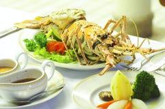 Lobster food Stock Photos