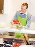 Lobster at Grocery Store Stock Photos