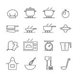 Lobster icon, vector. Black icon cook set on white background. vector illustration Stock Images
