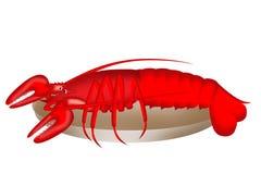 Lobster illustration Stock Image