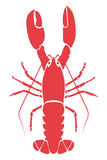 Lobster illustration Royalty Free Stock Image