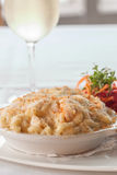 Lobster mac and cheese Royalty Free Stock Images