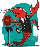 Lobster Maitre D Royalty Free Stock Photo