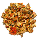 Lobster Mushroom Top View Stock Photography