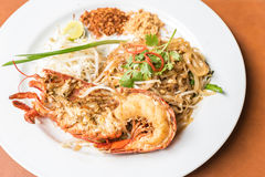 Lobster Pad Thai Stock Image