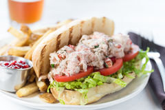 Lobster Po` Boy Royalty Free Stock Photo