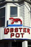Lobster Pot Royalty Free Stock Images