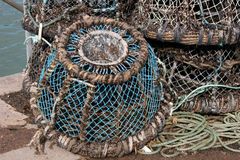 Lobster pot Royalty Free Stock Photography