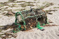 Lobster Pot Royalty Free Stock Image