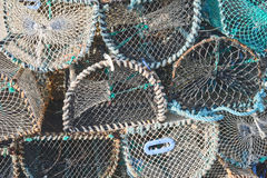 Lobster pot background Royalty Free Stock Photography