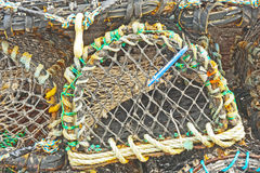 Lobster pot background Royalty Free Stock Photo
