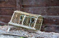 Lobster pot Stock Images