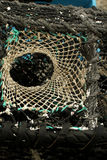 Lobster pot detail Royalty Free Stock Images