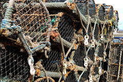 Lobster pot Royalty Free Stock Photos