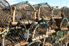 Free Lobster Pots Royalty Free Stock Image - 79115526