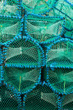 Lobster pots Stock Photos