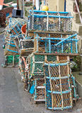 Lobster Pots Piled Up Royalty Free Stock Photo