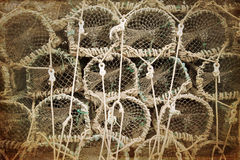 Old Lobster Pots / Crab Cages Stock Images - Image: 33482834