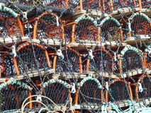 Lobster Pots Stock Image