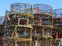 Lobster Pots Stock Images