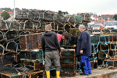 Lobster pots Royalty Free Stock Photo