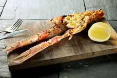 Lobster Prawn food Stock Photography