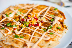 Lobster quesadillas Royalty Free Stock Photo