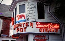 Lobster restaurant Stock Photos
