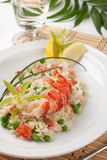 Lobster Risotto Royalty Free Stock Photo