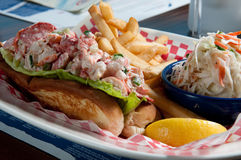 Lobster roll Stock Photos