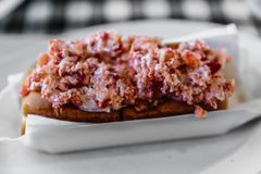 Lobster Roll, Canada Stock Images