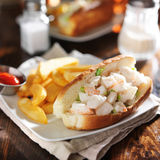Lobster roll Royalty Free Stock Photos