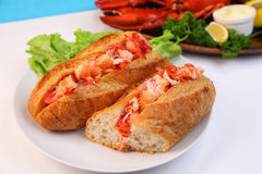 Lobster roll Stock Photography