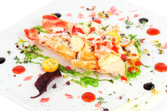 Lobster salad in japanese style Royalty Free Stock Photo
