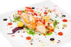 Lobster salad in japanese style Stock Image