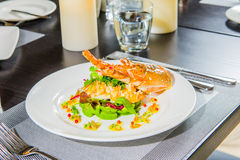 Lobster salad in japanese style . Stock Photo