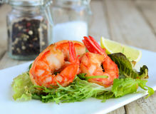 Lobster salad Royalty Free Stock Image