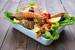Lobster salad Royalty Free Stock Photography