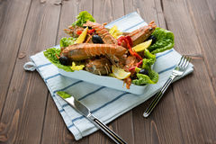 Lobster salad Stock Image
