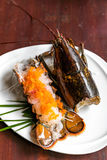 Lobster sashimi Royalty Free Stock Photo
