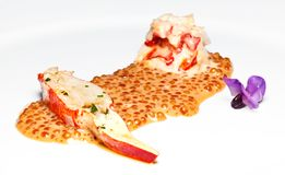 Lobster slice Stock Photos