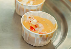 Lobster soup Stock Image