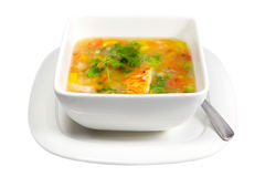 Lobster Soup Stock Photography
