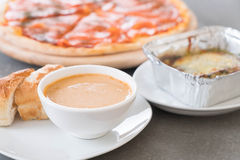 lobster soup Royalty Free Stock Image