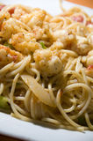 Lobster spaghetti as photographed in nicaragua Stock Image