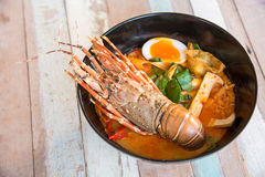 Lobster Spicy noodle 3 Royalty Free Stock Image