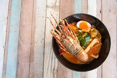 Lobster Spicy noodle 5 Royalty Free Stock Images