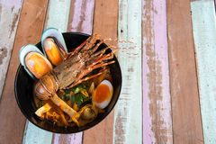 Lobster Spicy noodle 12 Royalty Free Stock Images