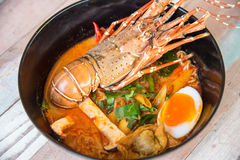 Lobster Spicy noodle 8 Royalty Free Stock Photography