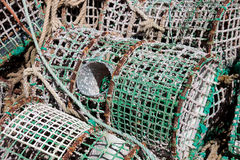 Lobster trap Royalty Free Stock Image